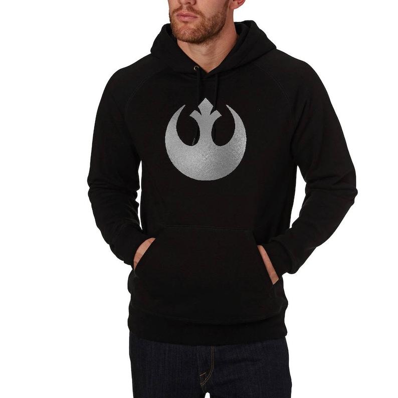 a1198fafaf4 Star Wars Rebel alliance symbol hoodie logo