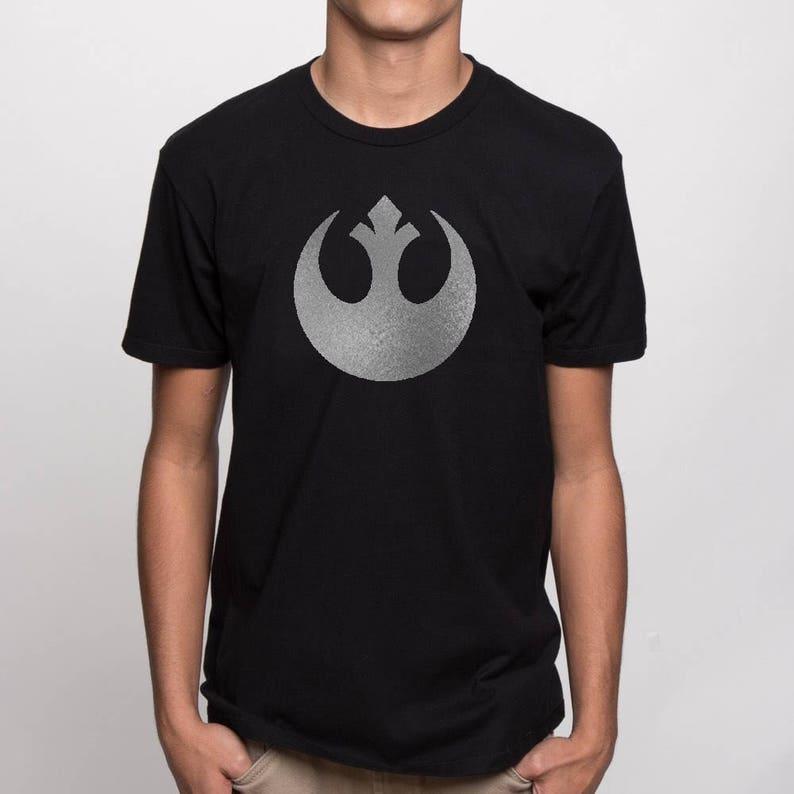 7ff69c92355c9 Star Wars - Rebellen-Allianz-Symbol - Tshirt, Logo-t-Shirt