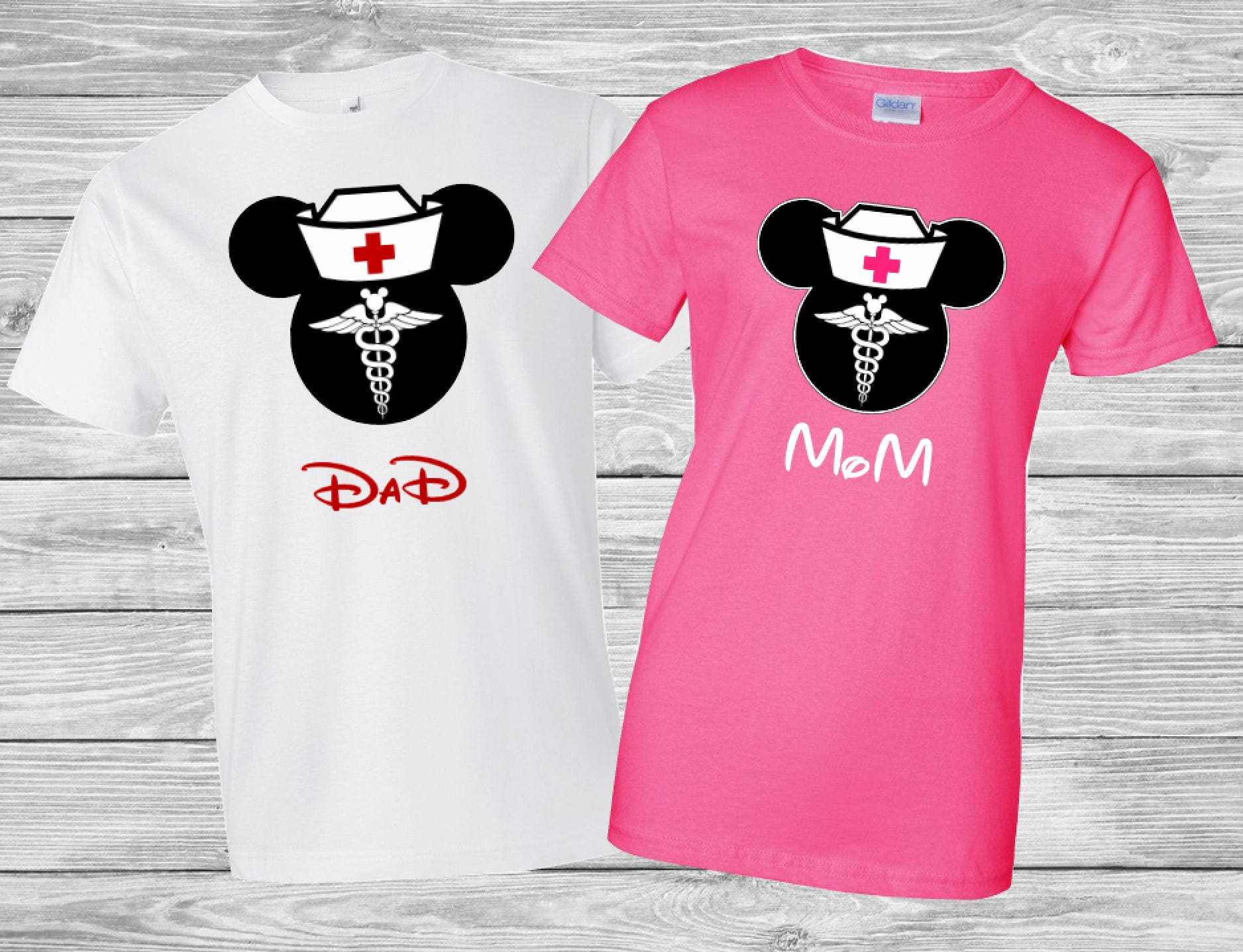 Disney Mickey and Minnie Nurse saving lives shirt / Mickey and