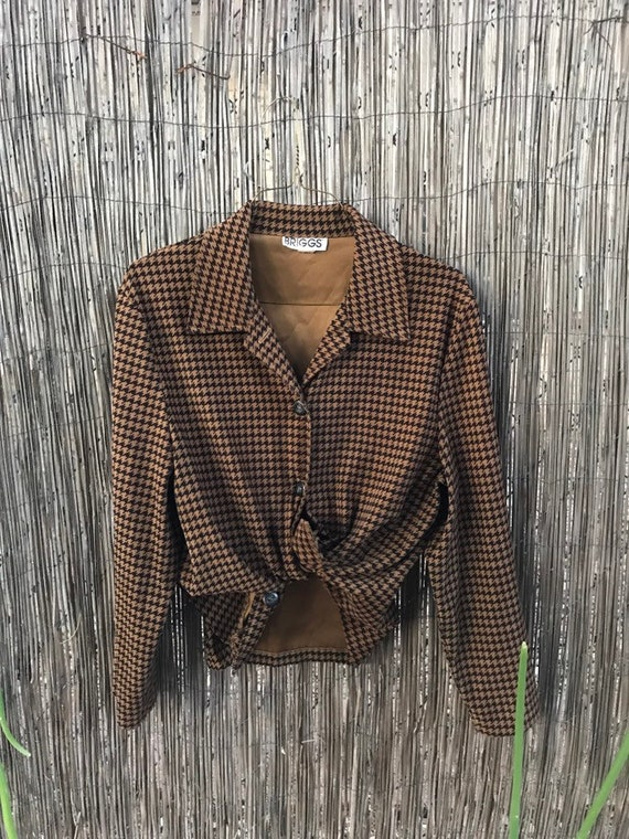 Briggs boxy blouse