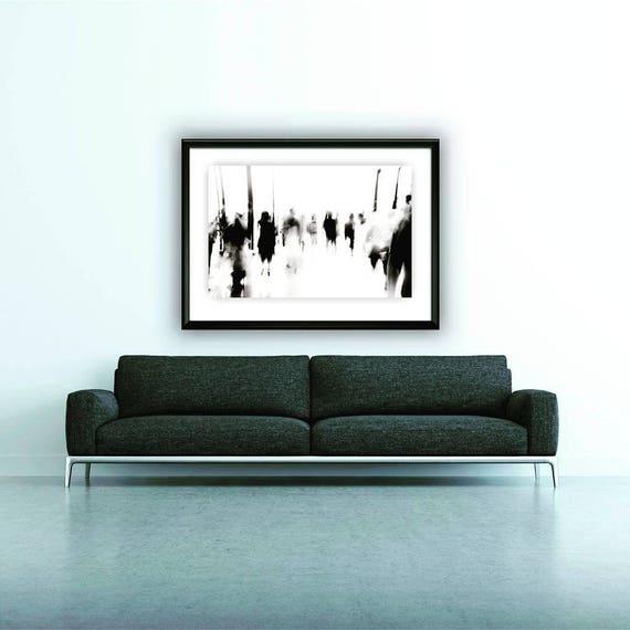 Nordischen Wand Druck Tumblr Zimmer Dekor Schwarz Und Weiß Etsy