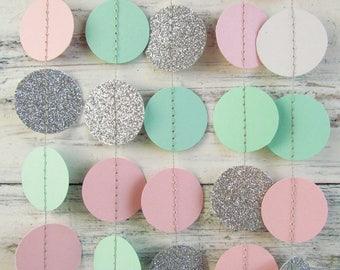 Mint pink wedding | Etsy