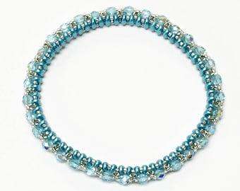 Beaded Jewelry, Bangle Bracelet, Beaded Bracelet, Bead Bracelet, Bangle Bracelets, Statement Jewelry, Wedding Jewelry, Bridal Jewelry