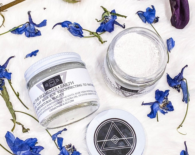 Featured listing image: Earth Element Primordial Clay Mask - Conjuring the Elements Skincare