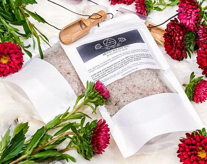 Featured listing image: Mood Balance Bath Ritual Soak *All Natural Salt Bath Soak*