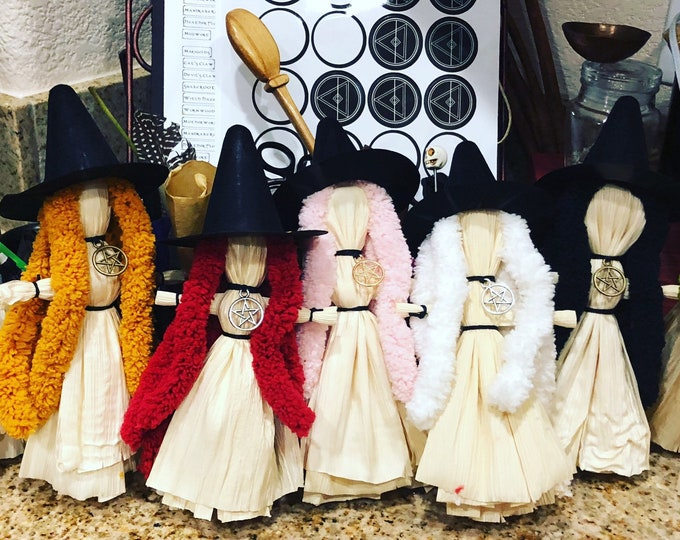 Featured listing image: Coven Corn Dollies for Altar Decor & Pagan Children