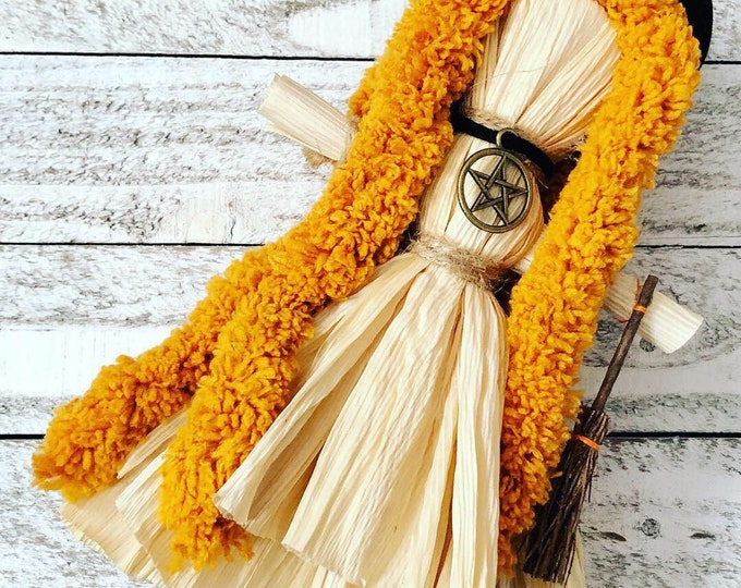 Featured listing image: Coven Corn Husk Dolls for Altar Decor & Pagan Children