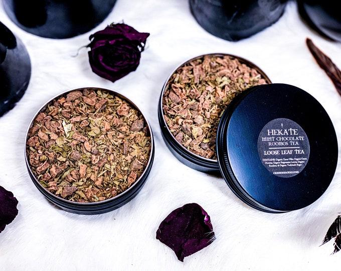 Featured listing image: Hekate Mint Chocolate Rooibos Loose Leaf Tea