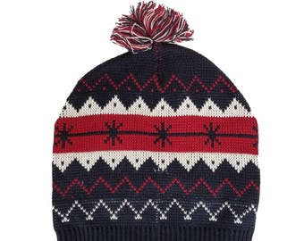 Kevin McCallister Hat Snowflake Home Alone 2 Lost In New York Costume  Cosplay Movie Cap Christmas Gift Winter Knit Beanie Halloween Prop 08d4d2673f4