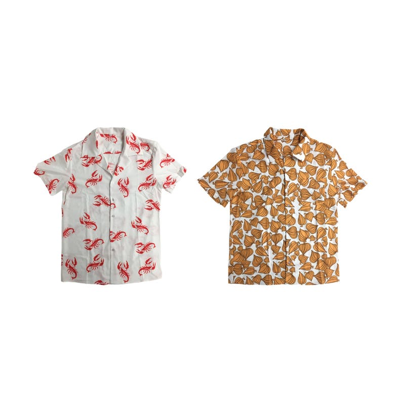 Cosmo Kramer Shirts Lobsters Vegetables Seinfeld TV Show Costume Button  Down Up Festivus T-Shirt 90s Halloween Gift Strike Hawaiian Quality a7975d5f7