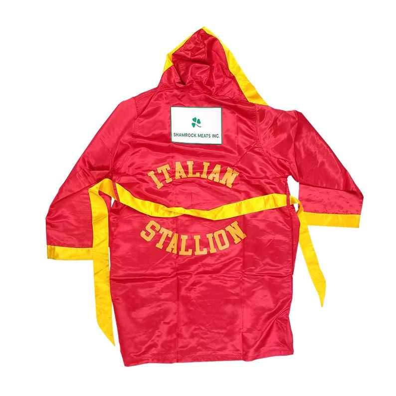 bb030fb271 Italian Stallion Rocky Balboa Costume Robe Movie 70s Halloween