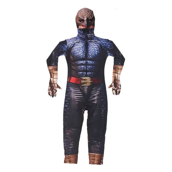 The Tick Costume Cosplay Spandex TV Show Cartoon Superhero Super Hero Comic Book Fancy Dress Halloween Muscle Suit Outfit Gift High Quality qgwXLrK
