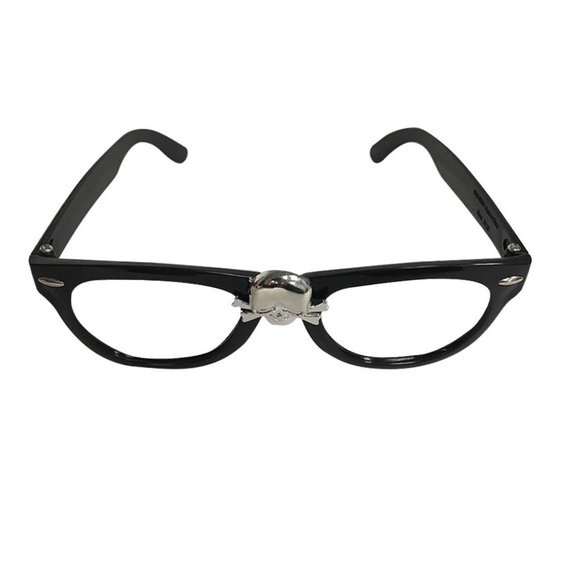ricky vaughn glasses with skull major league