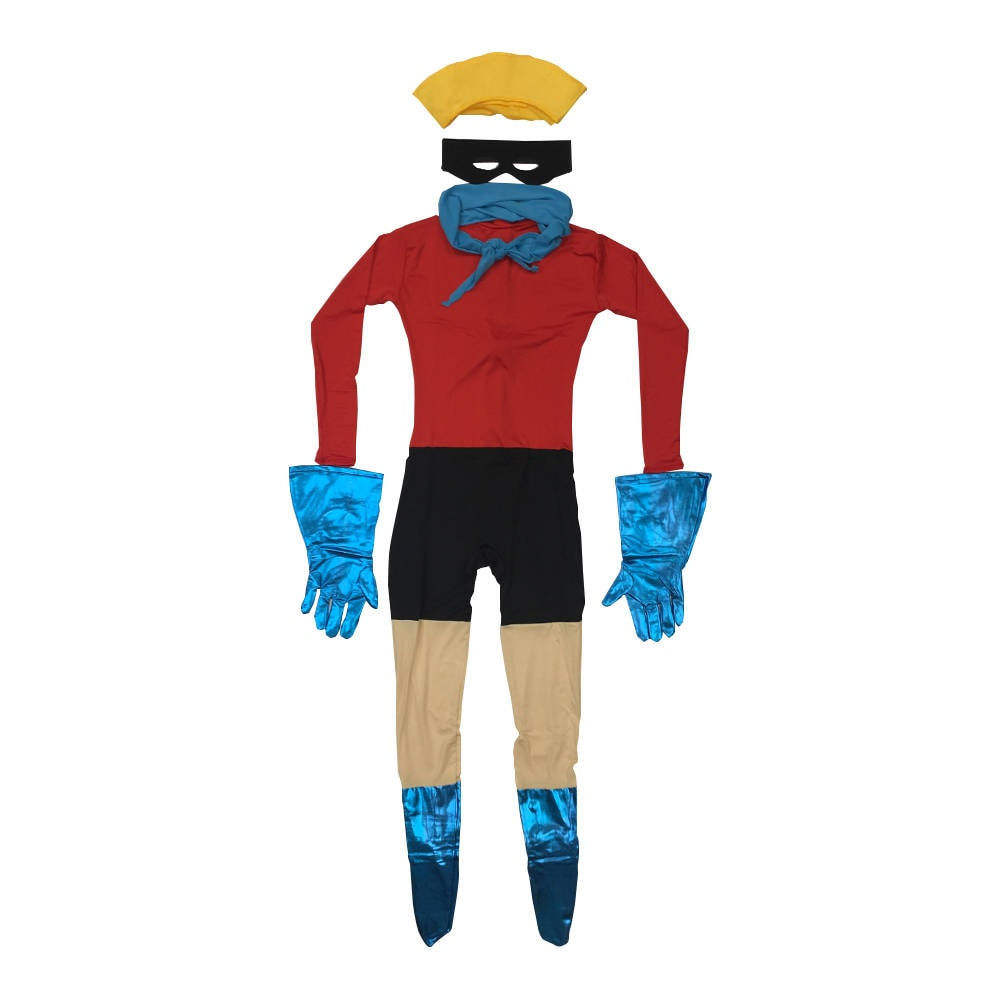barnacle boy costume spongebob squarepants cosplay spandex | etsy