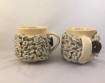 Pair of Coffee Cup Cozies (Mugs Included!)