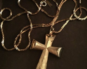 Single Silvertone Wire Collar Choker Dangle Paddle Necklace