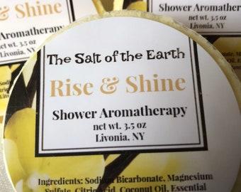 Shower Aromatherapy (3rd chakra)