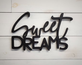 Sweet Dreams - Farmhouse Wall Decor