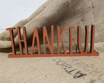 Fall Decor | Farmhouse Fall Sign | Autumn Decor | Thankful Sign | Autumn Sign | Fall Favorites | Thanksgiving Sign