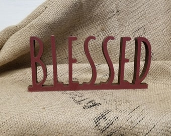 Fall Decor | Farmhouse Sign | Autumn Decor | Blessed Sign | Autumn Sign | Fall Favorites | Thanksgiving Sign | Everyday Decor