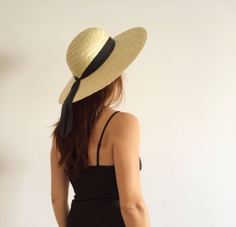 STRAW HAT Traditional hat Summer Hat Hats Beach Hat image 1