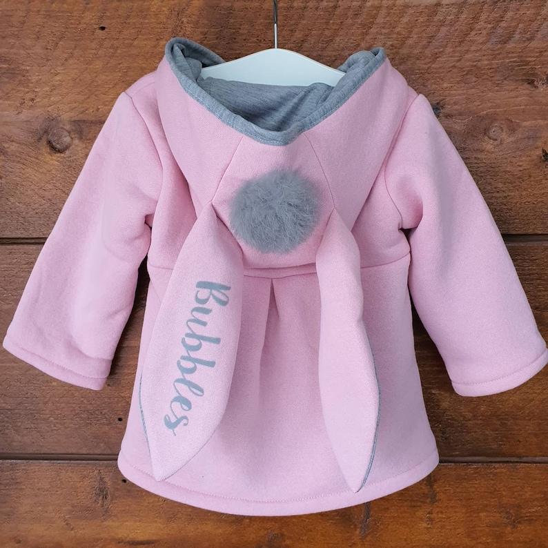 Manteau lapinou pour bébé - Créarice ETSY : KiddioShop