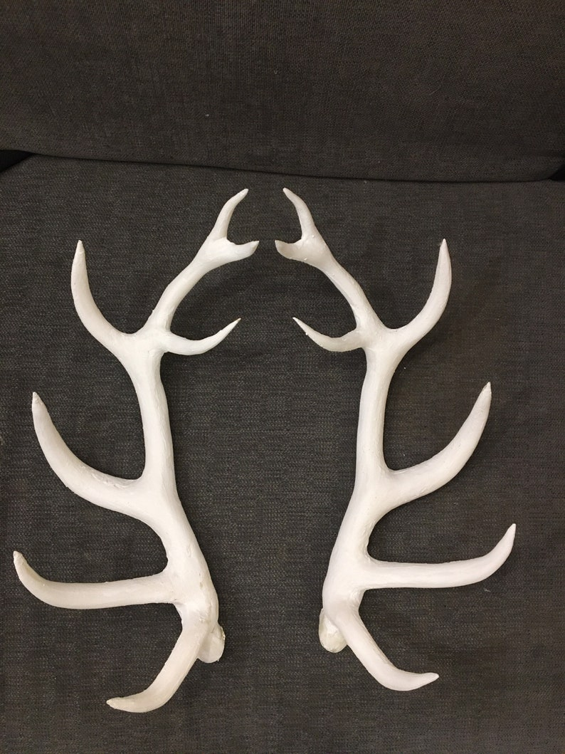 Faux Deer Antlers only with no mask 38cm Horns for customization Shaman Costume 15\u201d Wendigo Eco-plastic Antlers Halloween Horns
