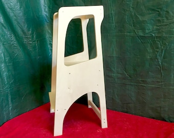 Helper Tower Table Chair All In One