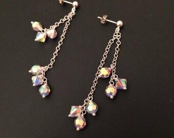 Swarovski Sparkle Dangly Earrings