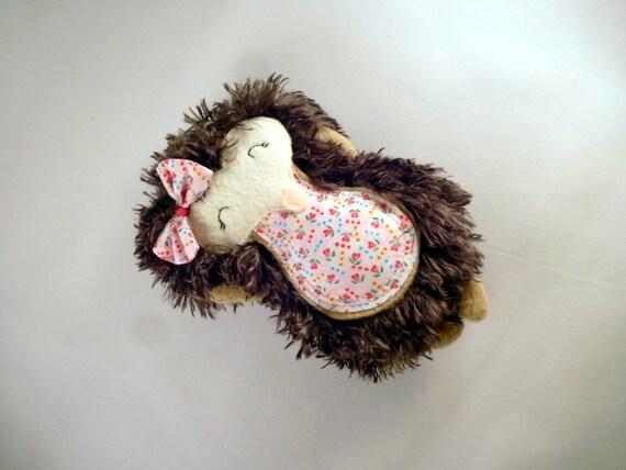 Hedgehog Stuffed Animal Heart Hedgehog Woodland Critter Etsy