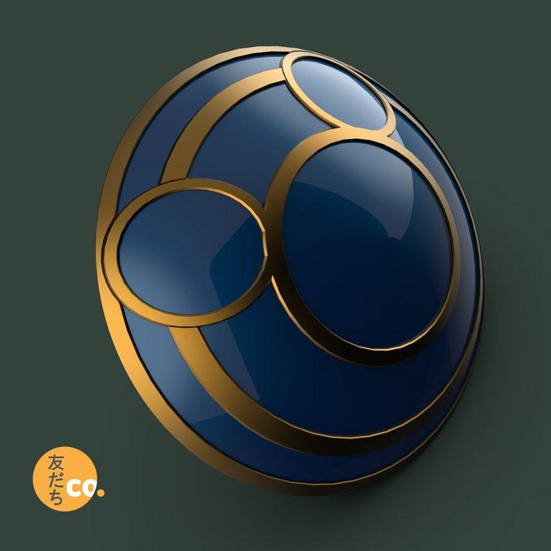 Knight/'s Shield 3d printed replica