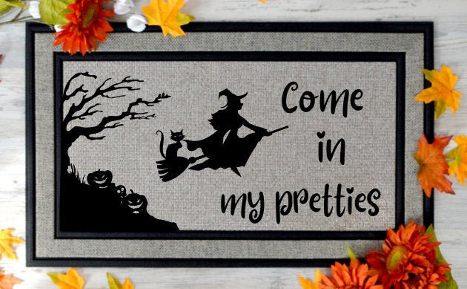 Halloween Home Decor Door Mat