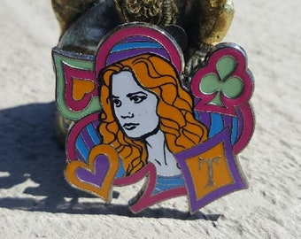 Alice Mad Tea Party Collectible Pin