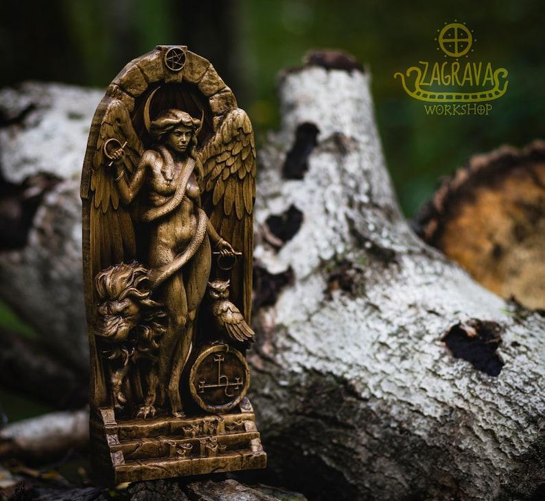Lilith Inanna Ishtar Astaroth Sumerian Wicca Göttin der   Etsy