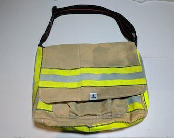 Firefighter Messenger Bag Turnout Gear