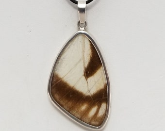 Butterfly Wing Pendant Necklace, Free Shipping (18601), Butterfly Wing Necklace, Pendantlady,Pq
