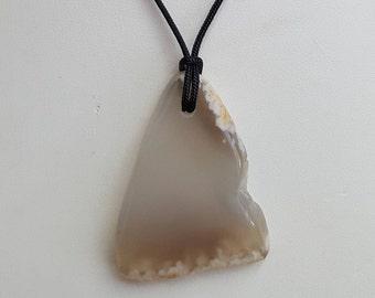 Plume Agate Pendant Necklace, Free Shipping (E17211), Pendantlady,pq