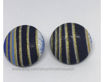 African Print Earrings