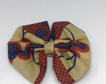 African Print Hairbow