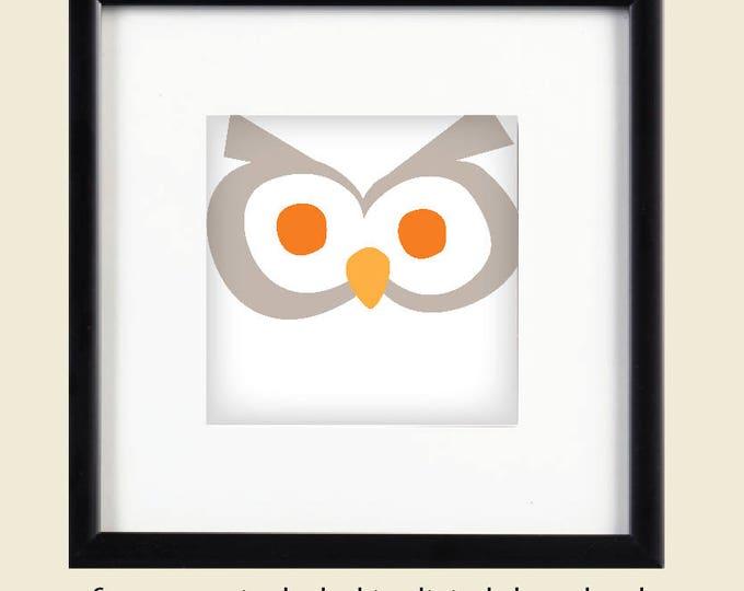 Owl Printable Art / Digital Download