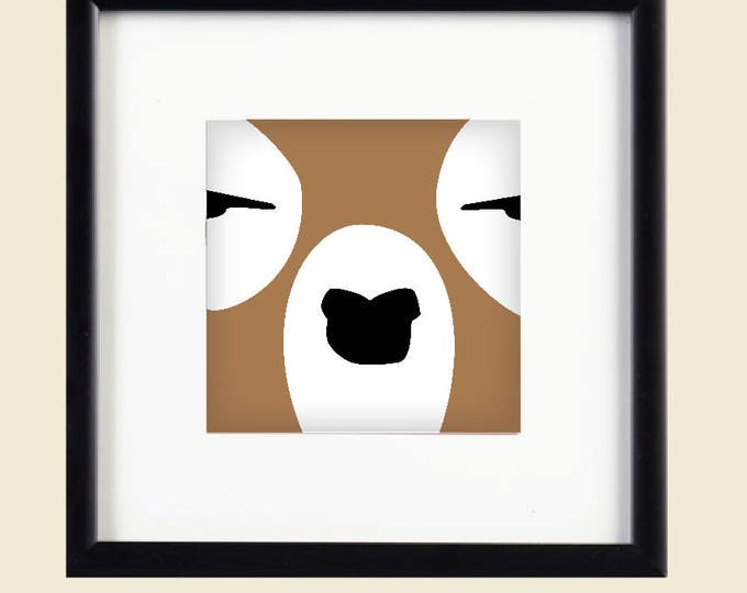 Woodland Deer Printable Art / Digital Download