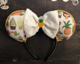Mickey Mouse Dole Whip inspired Mickey Mouse Ears ready to ship