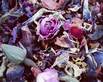 Vibrational raise looseleaf tea