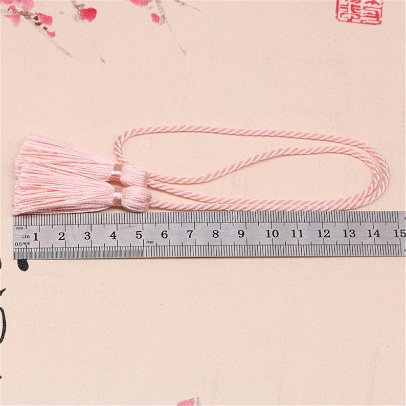12 Color to Choose,10PCS 50MM Cotton Tassel Pendant Cotton Tassel Accessories,High Quality Extra LF070 Tassel Craft
