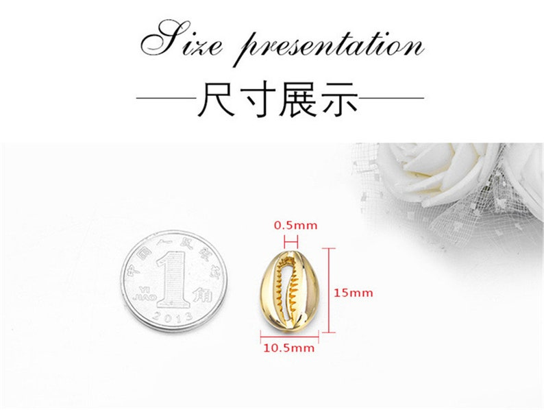 Earring Pendant MY093 5pcs 10.5*15mm 24K Gold Brass Charm Separated Beads