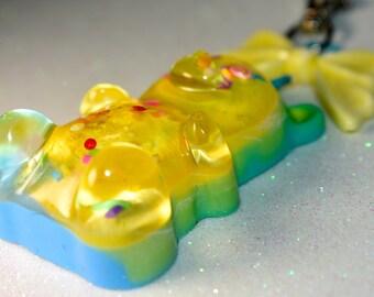 Giant Gummy Resin Purse Charm
