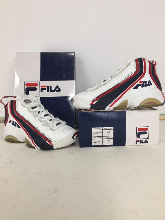 FILA STACK Navy/Red