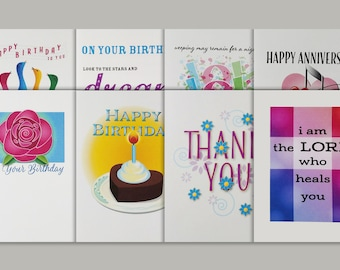 All Occasion Greeting Card Collection//Greeting card set// Christian Greeting Cards