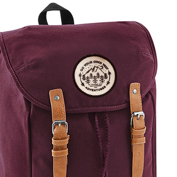 Passez sac de toile votre à propre chemin aventurier dos coton vZv7w