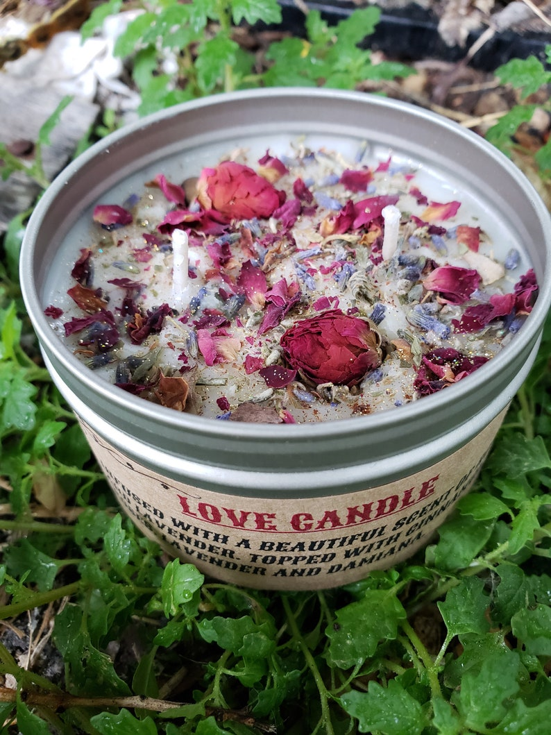 Love Candle  Bring Me Love  Self Love  Love Spell Candle  image 0